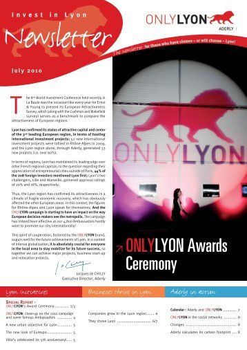 ≥ ONLYLYON Awards Ceremony - Aderly