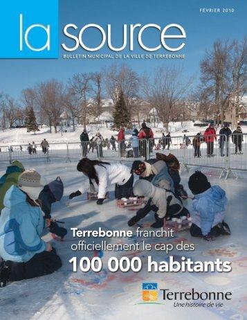 100 000 habitants - Ville de Terrebonne