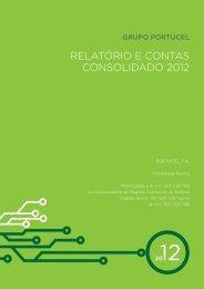 relatório e contas consolidado 2012 - Backoffice Site Corporativo ...