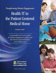 Full report (104 pages; PDF) - Patient-Centered Primary Care ...