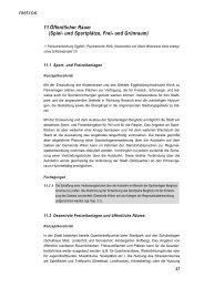 11 Öffentlicher Raum (Spiel- und Sportplätze, Frei-  und ... - Stadt Wil