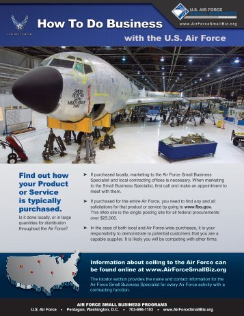 How To Do Business - Los Angeles Air Force Base