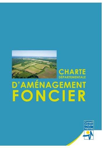 Charte départementale de l'aménagement foncier - Conseil Général ...
