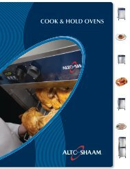 Cook & Hold ovens - Progastro