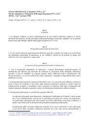 L.R. n. 15 - 31 dicembre 1979 - Regione Calabria - Dipartimento ...