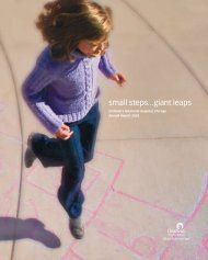 072.054 CMH Annual Report/R2 - Ann & Robert H. Lurie Children's ...