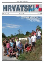 36. broj 9. rujna 2010. - Croatica Kht.