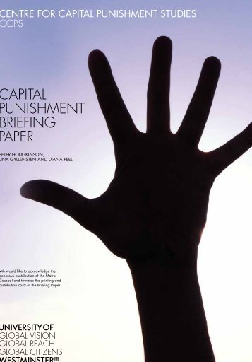 capital punishment an injustice of society
