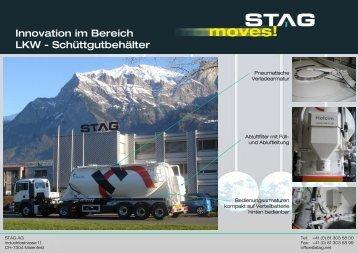 Rinnenförderung Innovation im Bereich LKW ... - Stag