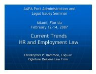 Current Trends HR and Employment Law