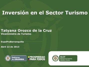 Inversiones Turísticas en la Región Caribe de ... - ProBarranquilla