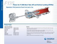 F135 Power for F-35B Short Take Off and Vertical Landing (STOVL)