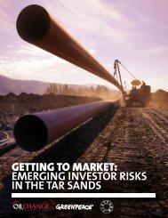 getting to market - Oil Change International