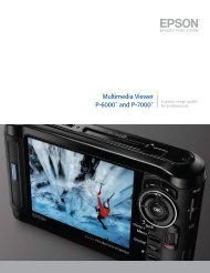 Download P-6000 and P-7000 Product Brochure - Vistek