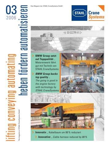 Innovativ - STAHL CraneSystems GmbH