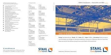 Umbau von denkmalgeschützten Kranen - STAHL CraneSystems ...