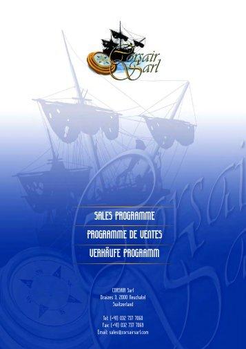 Téléchargez catalogue PDF. - Corsair SARL