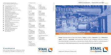 10. Papierrollen-Handhabung in 5 Dimensionen -  STAHL ...