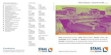 Automatikkran für Müllumladung - STAHL CraneSystems GmbH