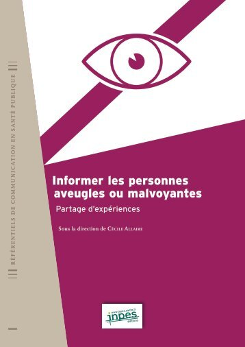 INPES 1415 Informer personnes aveugles