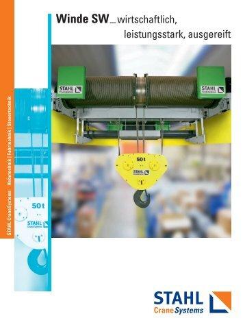 Winde SW - STAHL CraneSystems GmbH