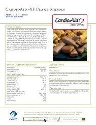 CardioAid™-XF Plant Sterols - ADM