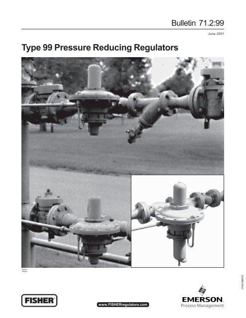 Type 99 Pressure Reducing Regulators - Squibb Taylor, Inc