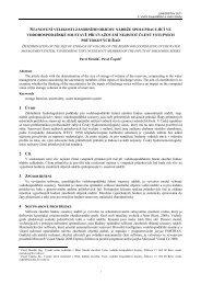 Radiometrické seznamovací laboratorní odpovědi