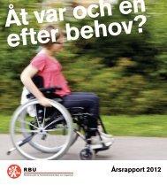 Årsrapport 2012 - RBU
