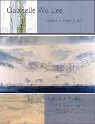 Gabrielle Wu Lee - Museum of Fine Arts - Florida State University