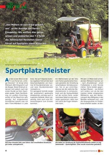 Sportplatz-Meister - Staiger-Ferrari