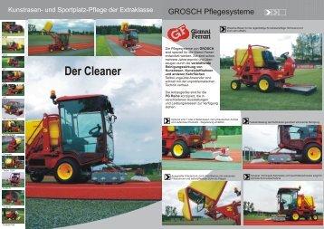 Feinfilterbox Saug-Kehrmaschine - Staiger-Ferrari