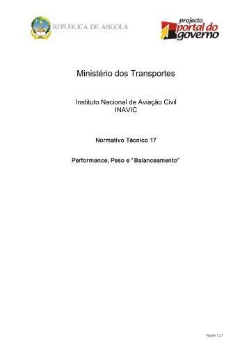 Ministério dos Transportes - saflii