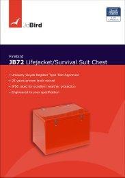 JB72 Lifejacket/Survival Suit Chest - Jo Bird