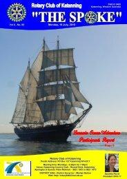 Vol 6-05-July 19 - Katanning Rotary Club