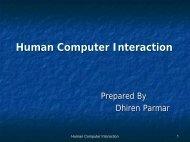 Interactive Computer Graphics, Human Computer Interaction, Virtual ...