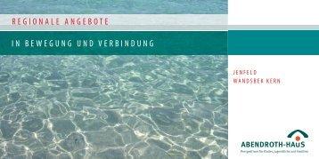 Regionale Angebote Jenfeld, Wandsbek Kern - Abendroth-Haus