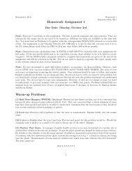 COURSE SYLLABUS Biostatistics M403B/Epidemiology M403
