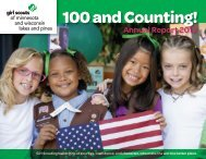 2012 Annual Report - Girl Scouts of Minnesota and Wisconsin Lakes ...