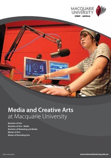 Media and Creative Arts at Macquarie University - KOM Consultants