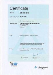 Certifi cate