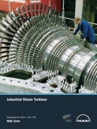 Industrial Steam Turbines - MAN Diesel & Turbo SE