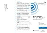 Viola-Methodik für Violin-Pädagogen - Bundesakademie für ...