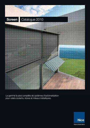 Nice Nice to m Screen Catalogue 2010