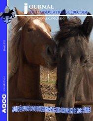 Volume 13-1 Mars 2011 - Association québécoise du cheval canadien