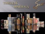 TIMELESS Minerals - bei Tremesco!