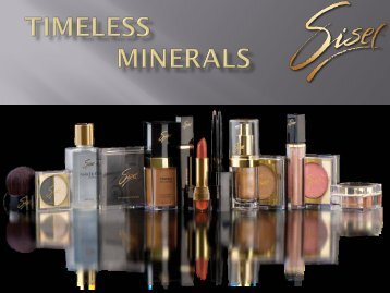 TIMELESS Minerals - bei Tremesco!