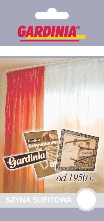 SZYNA SUFITOWA - Gardinia