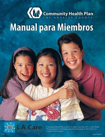 Manual para Miembros - Los Angeles County Department of Health ...