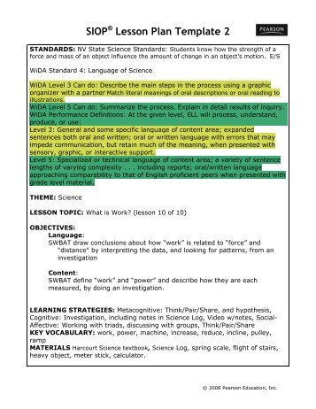 sioplesson plan template 2 washoe county school district